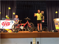 Safe Bike-Riding Skills for Reinhard Students Photo