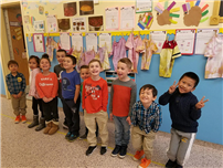 Bellmore students make connections to pilgrim life photo