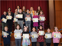 Bellmore Spelling Leaders are A-Buzz with Talent photo