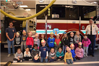 Firehouse visit photo 3